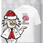 Professor Dunlop's BRAINBOX launches T-Shirt Giveaway
