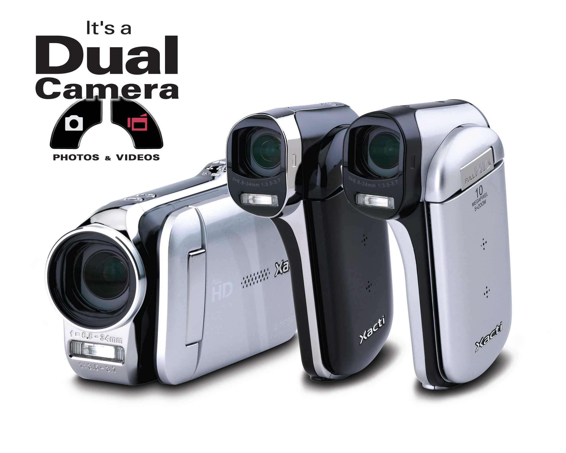 SANYO announces new Xacti Dual Cameras for UK
