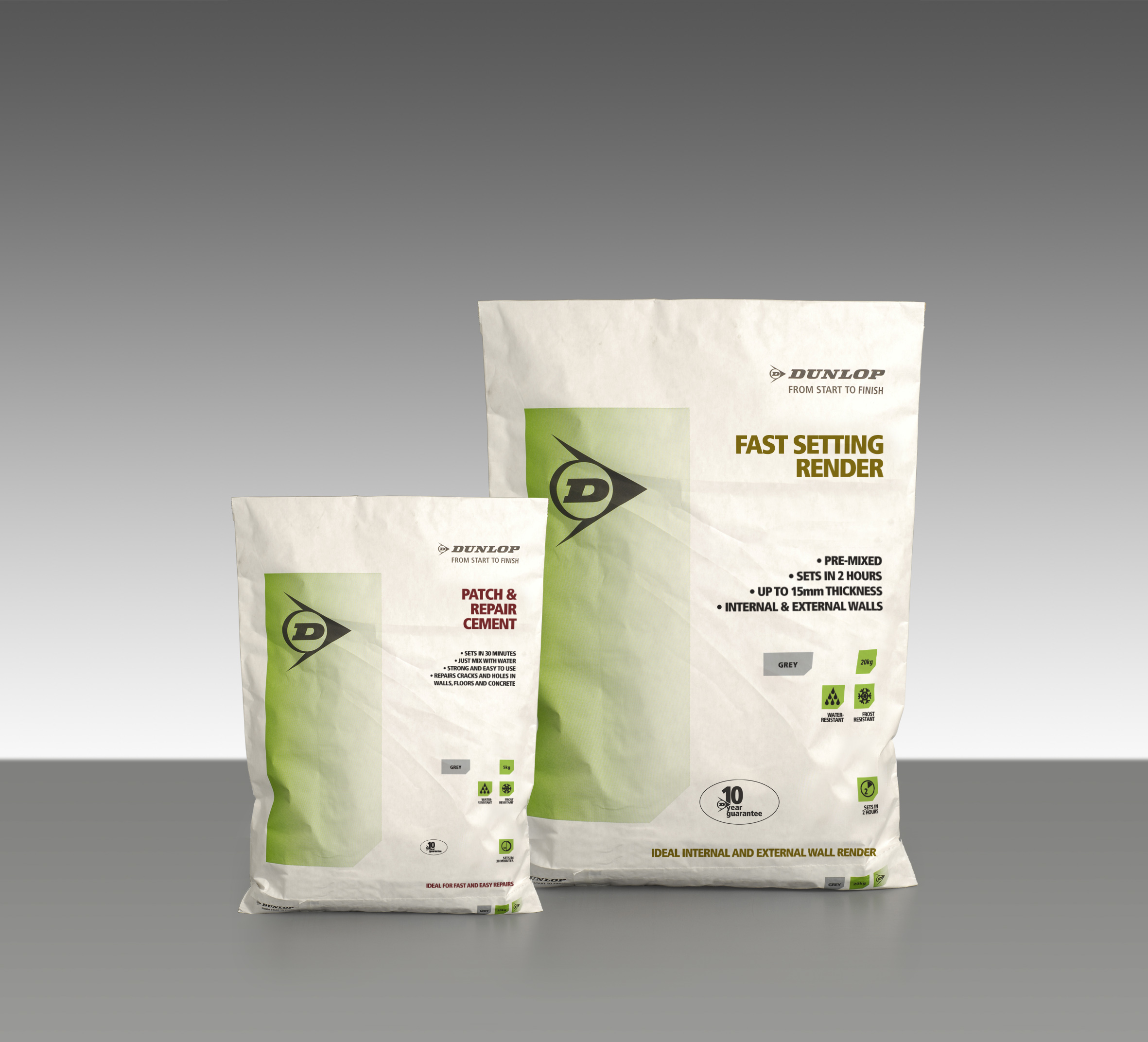 New Dunlop Adhesives preparation products will patch, repair and render