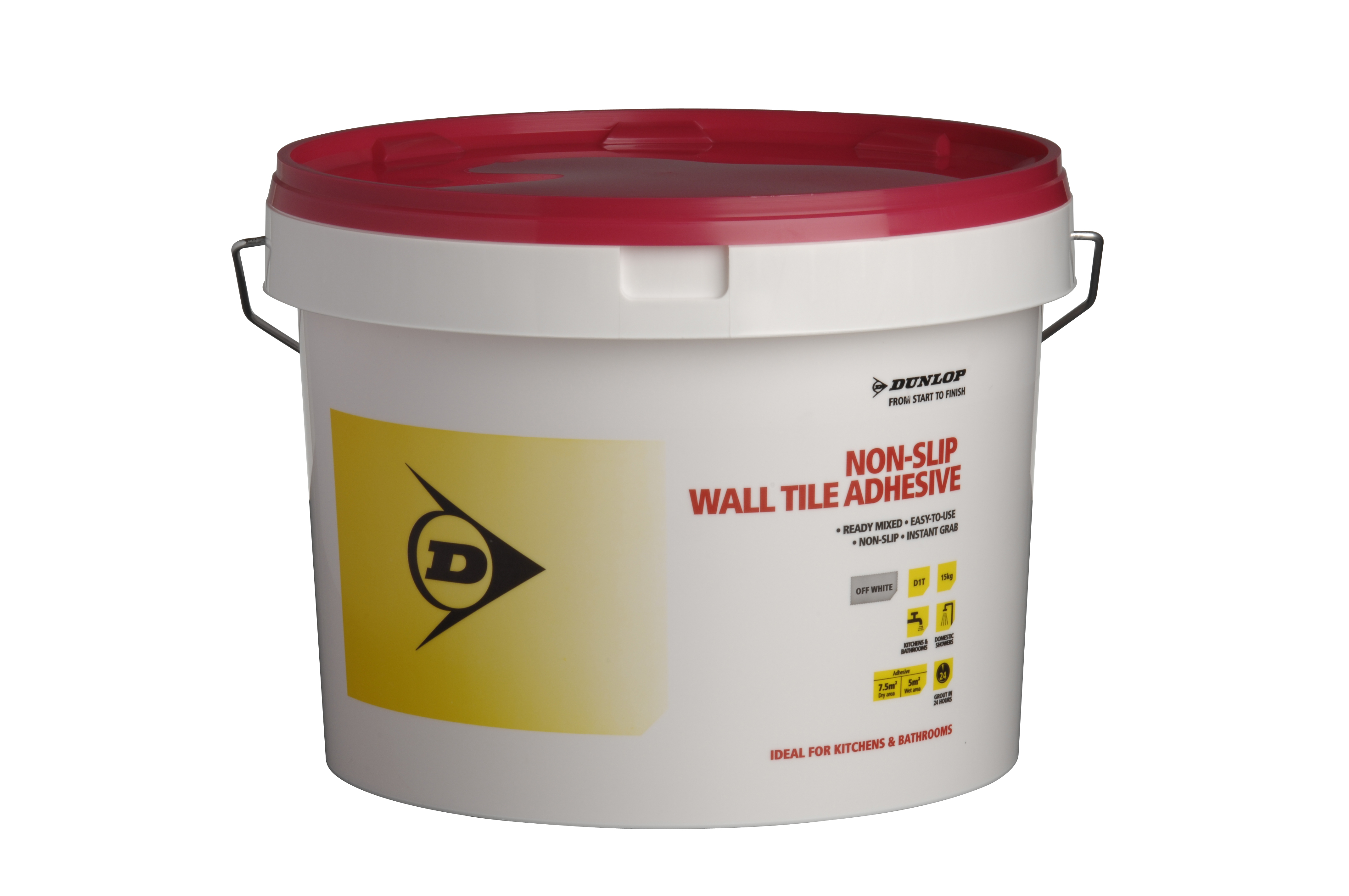 Non-Slip Wall Tile Adhesive sliding off the shelves