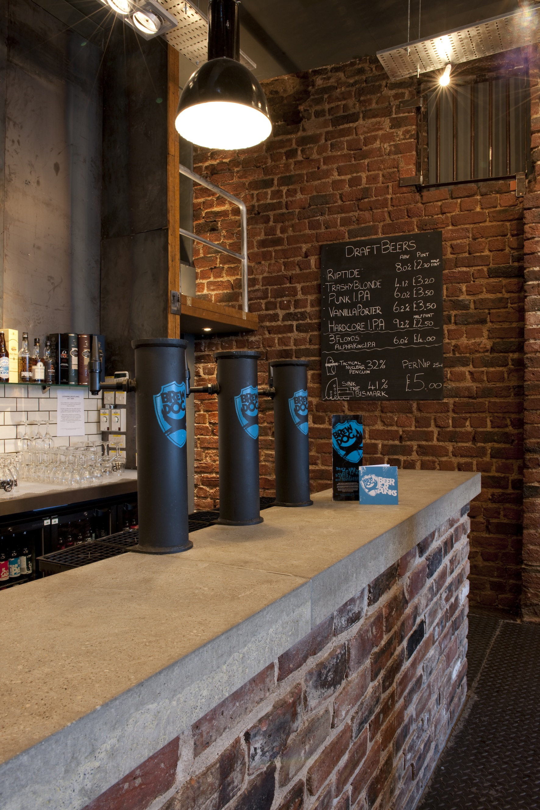 Image: The new bar, with 12 draught lines