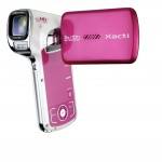 Image 2: The Xacti CA100 in Pink