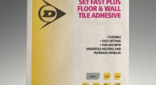 Dunlop's sale-safe adhesive is a sure winner with merchants