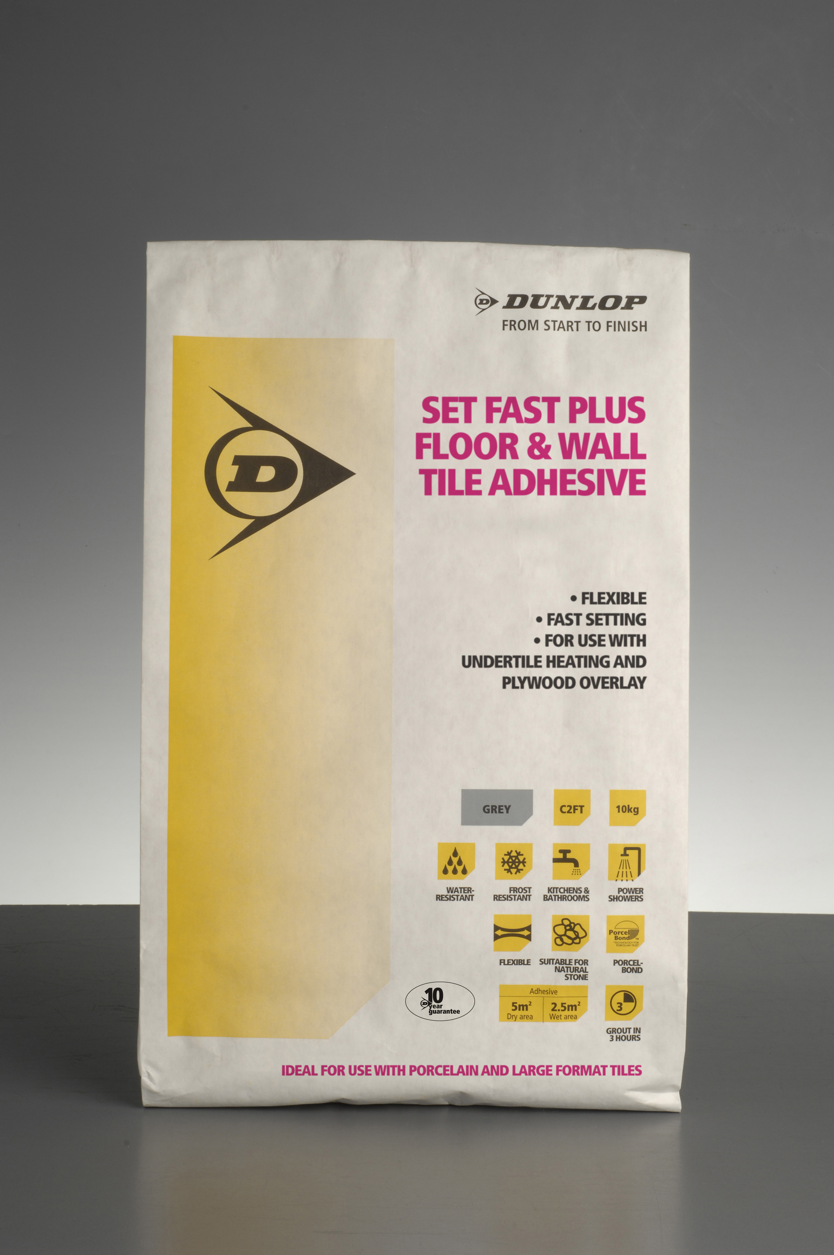 Dunlop Adhesives' Set Fast Plus ticks all the boxes