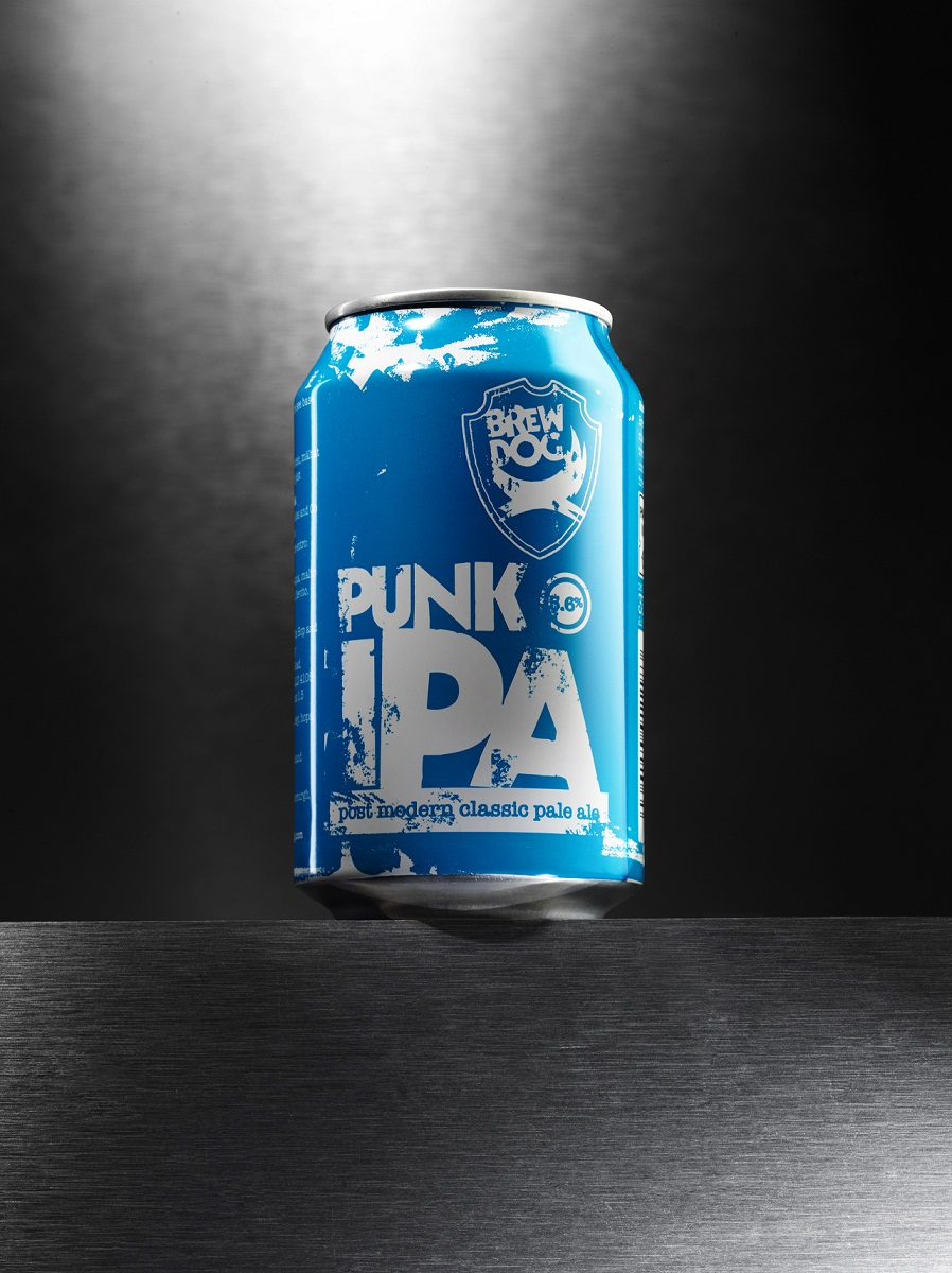 Punk IPA in a can