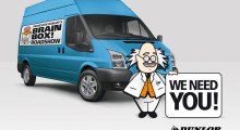 Dunlop Adhesives takes Professor Dunlop's BRAINBOX on the road