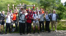 Building Adhesives succeeds in the Three Peaks Challenge