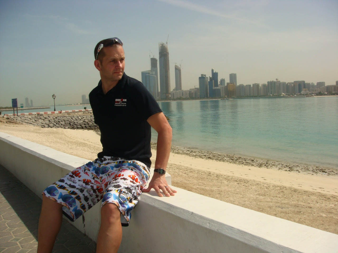Paul's role includes making sure that all children have the opportunity to learn to swim