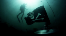 The Sunk Punk tank flew a Jolly Roger flag