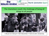 North Yorkshire Sport to offer coaching development opportunity for North Yorkshire Coaches