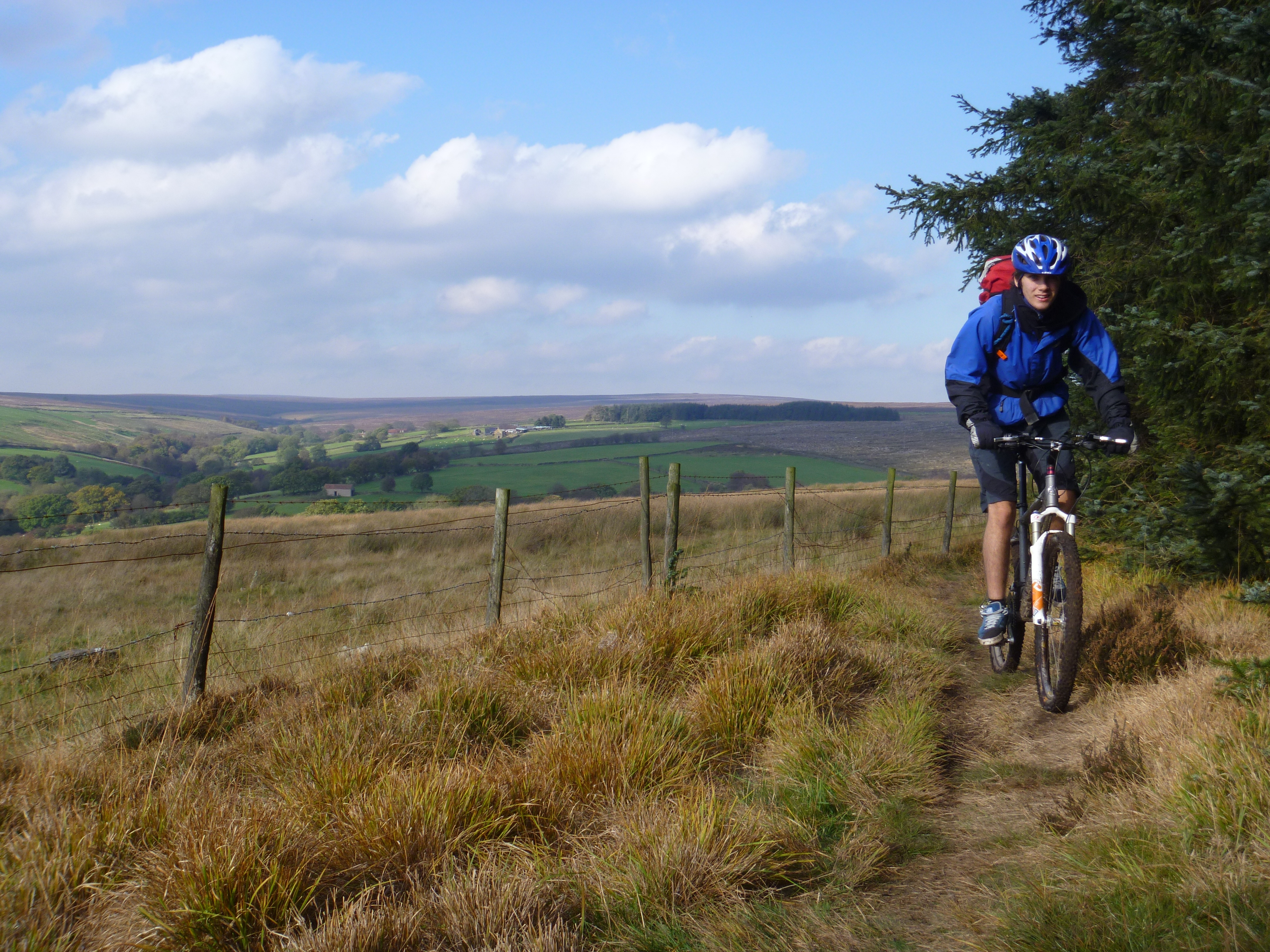 The mountain biking event took place in and around the York area, introducing essential biking skills to people new to the sport
