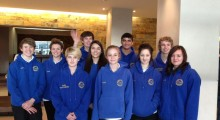 Teen swim team to make a splash at 2012 Paralympics