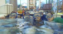 Snorkelling lessons available at Meadowlands Leisure Centre