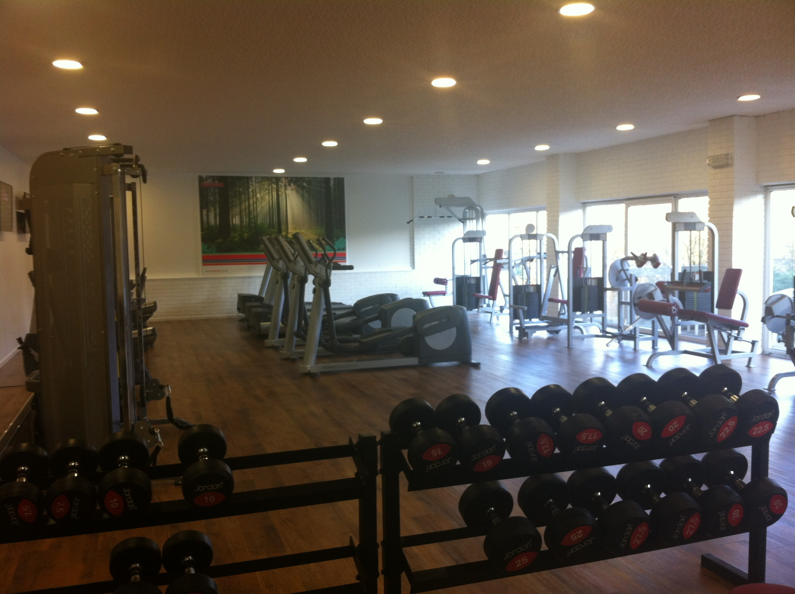 The gym will offer the local community access to affordable fitness and a healthy lifestyle
