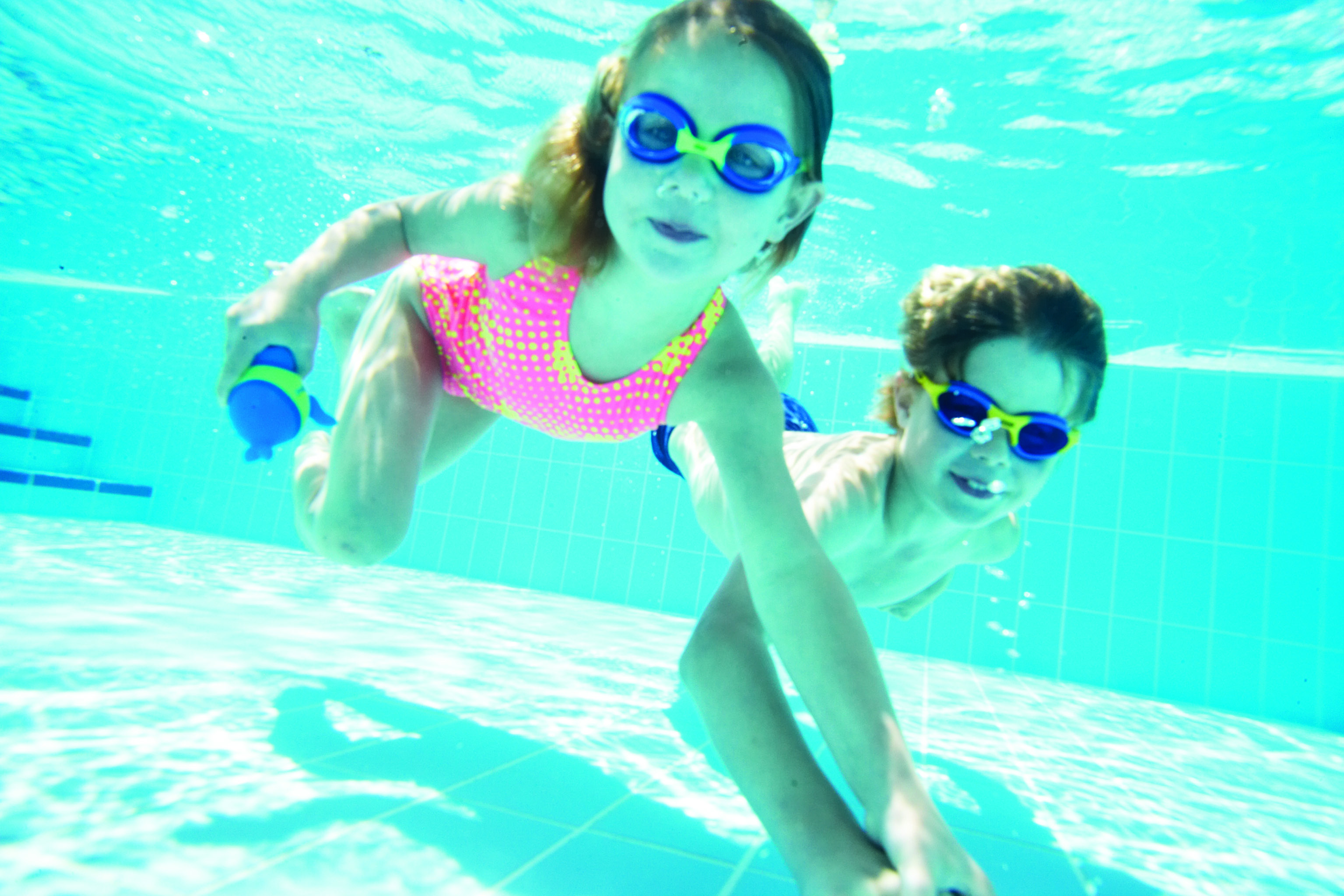 Children can swim for free with a paying adult and families of two adults and two children can also swim for £5