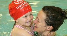 It's the final countdown…Dorking Sports Centre celebrates 100 days until the Olympics with a range of swimming activities