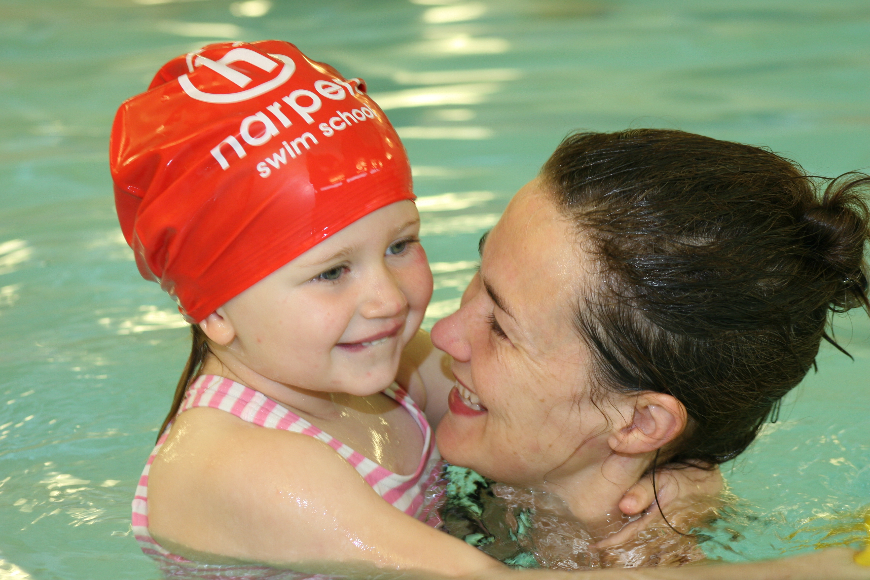 The centre is offering children the chance to swim.