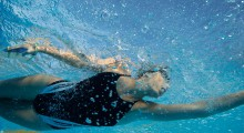 Parklands Okehampton Leisure Centre launches adult swimming lessons to mark final countdown to the Olympics
