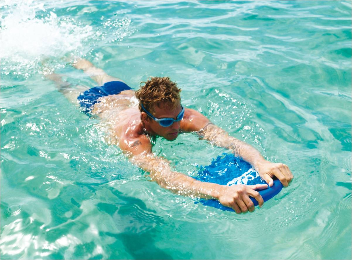The course is designed for non-swimmers and children.