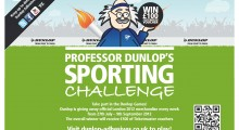 On your marks!! Dunlop Adhesives invites tradesmen to celebrate the summer of sport with web games and giveaways