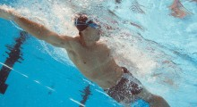 Image: Swimming participation increases
