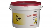 Dunlop's Non-Slip Wall Tile Adhesive gets merchants in the mood for summer.
