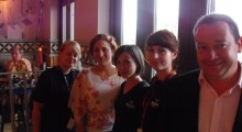 Image: The La Tasca Portsmouth team and Sarah.