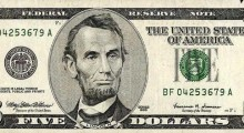 Blipp the $5 bill to reveal the Obama Campaign