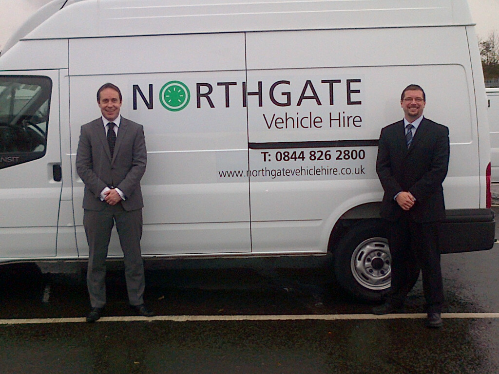 882584d5c9 Northgate Vehicle Hire. Jonathan Outterson (left) and Derek Barr (right)