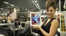Kelly Brook opens New Look's Blippar enabled Marble Arch store