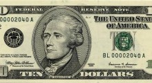 Blipp the $10 bill to reveal the Romney Campaign