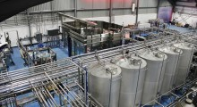 CIP system and bottling machine
