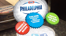 Say cheese: Philadelphia Cream Cheese and Blippar enhance customer experience with interactive tub