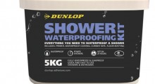 Dunlop Adhesives launches new and improved shower kit due to rise in customer demand