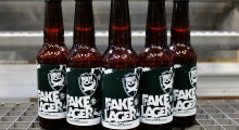 BrewDog hits out at mainstream beers with launch of Fake Lager