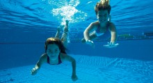 Making a splash! Leisure centre offers free swims for school children