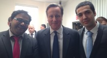 David Cameron & Blippar flying the flag for Great British Technology in New York