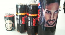 Fans can 'blipp' the 330ml cans, 600ml bottles and 2L bottles