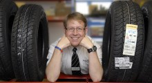Northgate Vehicle Hire continues its environmentally beneficial tyre-recycling scheme
