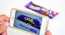 Dairy Milk Spots and Stripes blipp in action