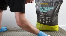 Dunlop Adhesives' innovative product launch set to revolutionise tiling times