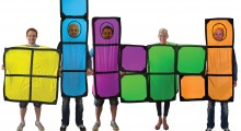Fancy dress becomes rocket science: NASA scientist invents smartphone costumes powered by apps