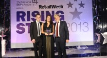 UK POS sponsors a night of glitz and glamour at Retail Week's Rising Stars Awards