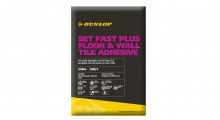 On your marks, get set, go – Dunlop's Set Fast Plus Floor & Wall Tile Adhesive expected to zoom off the shelves!