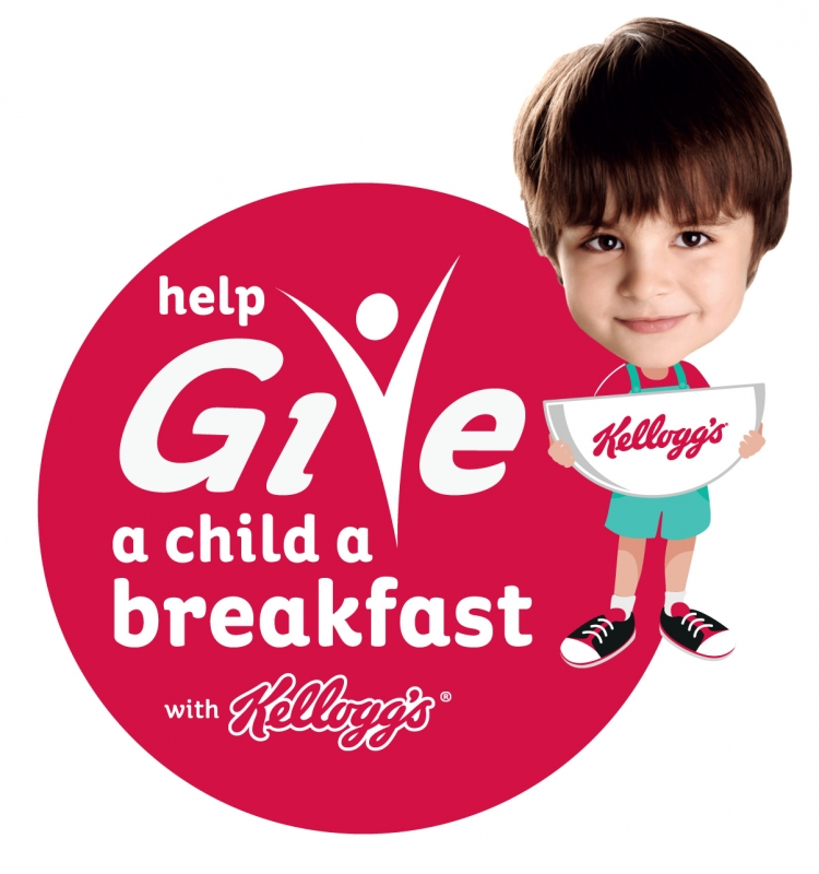 Contribute to the campaign when you Blipp the Give a Child a Breakfast campaign logo
