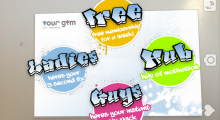Blippar & Your Gym flex their muscles via augmented reality gym membership card