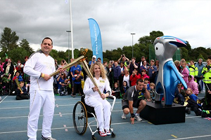 The lighting of the flame for the Paralympic torch relay will take place at the start of every Paralympic summer and winter games