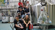 Every brewer involved visited BrewDog's Ellon brewery to create the ultimate UK collaboration beer