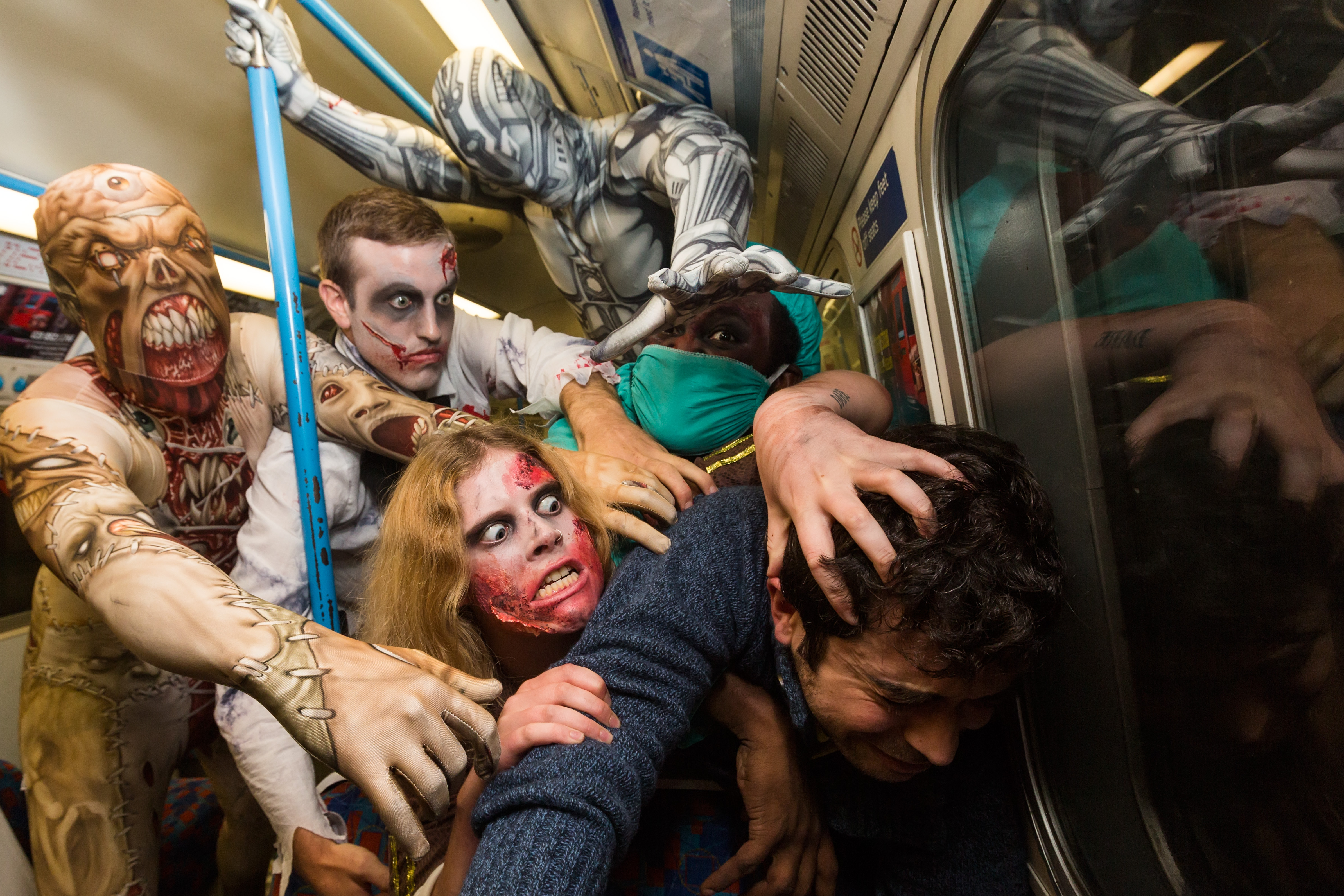 Where will the Fright Mob strike next?