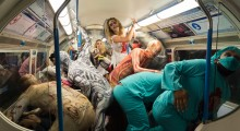 The Fright Mob have already struck on the London Underground